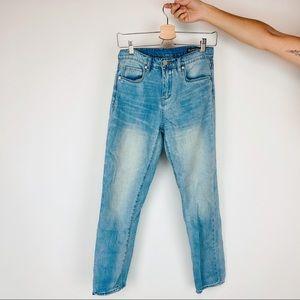 Blank NYC medium light wash high rise skinny jeans